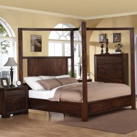 Queen Canopy Bed Set - Home Furniture Design