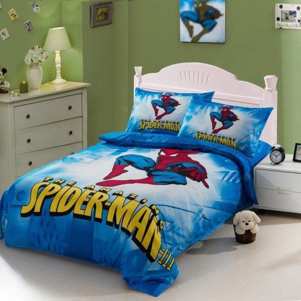 Spiderman Full Size Bedding Set - Home Furniture Design