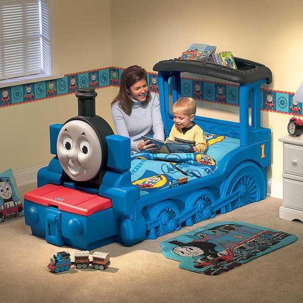 Thomas Train Twin Bed Set - Home Furniture Design