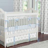 White Crib Bedding Set - Home Furniture Design