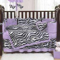 Zebra Print Crib Bedding Sets - Home Furniture Design