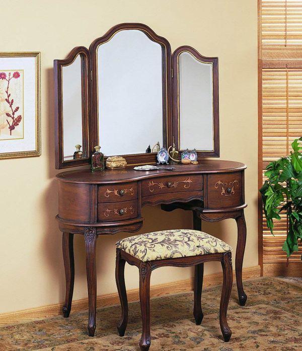 Antique Vanity Desk - Home Furniture Design