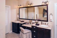 Bathroom Vanities with Makeup Desk - Home Furniture Design