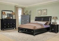 Black King Size Bedroom Sets