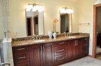 Cherry Bathroom Cabinets - Home Furniture Design