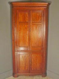 Cherry Corner Cabinet - Home Furniture Design