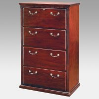 Cherry File Cabinet 4 Drawer - Home Furniture Design