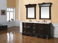 Cherry Wood Bathroom Cabinets - Home Furniture Design
