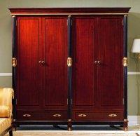 Cherry Wood Storage Cabinet - Home Furniture Design