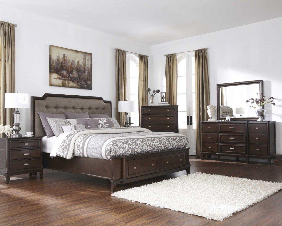 King Bedroom Sets with Storage  Home Furniture Design