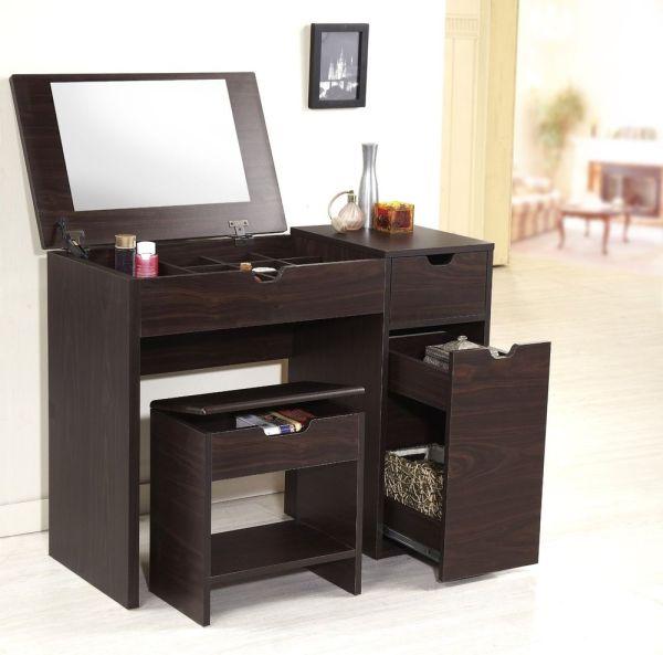 Lighted Vanity Makeup Desk - Home Furniture Design