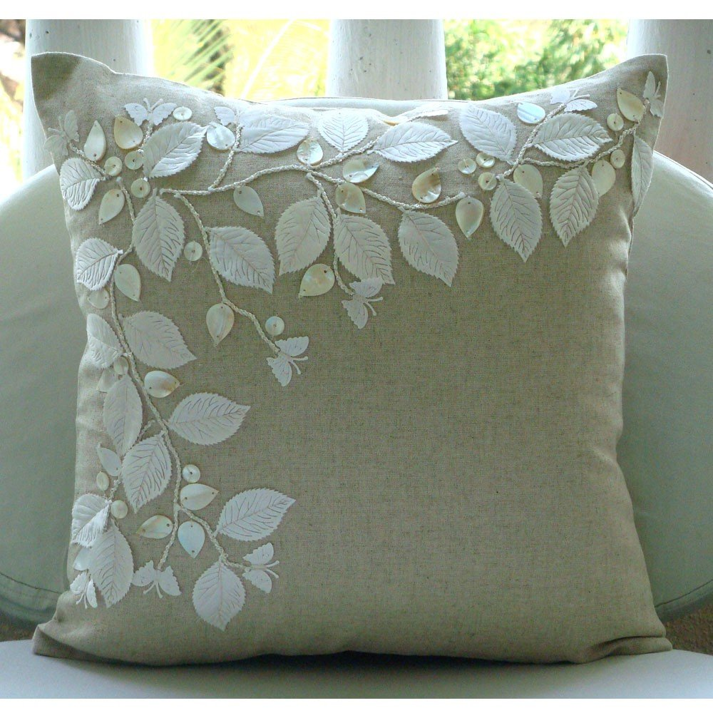 Linen Throw Pillow Covers  Home Furniture Design