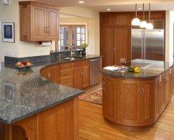 Natural Cherry Kitchen Cabinets   Home Furniture Design