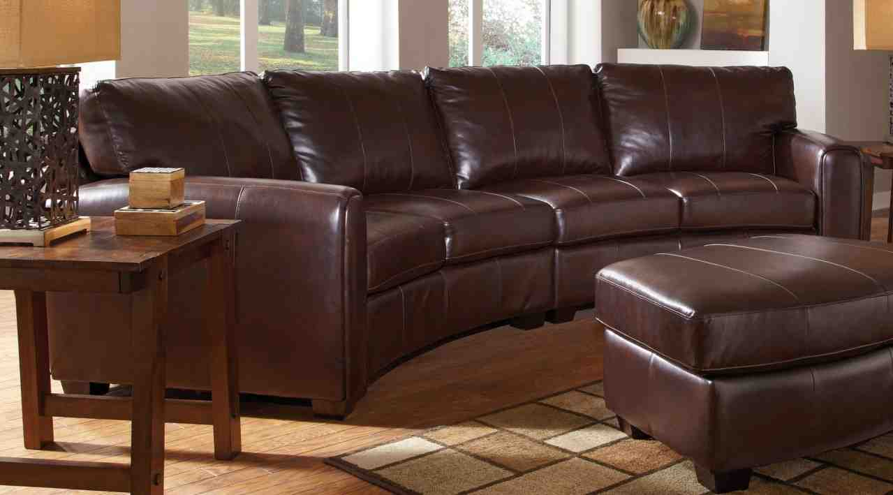 sofa cushions without covers brown light blue walls curved leather sectional - home furniture design