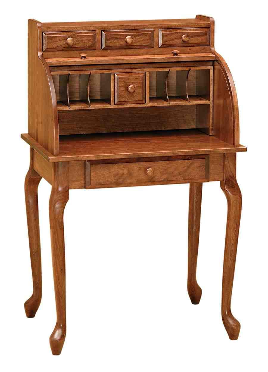 Queen Anne Secretary Desk  Home Furniture Design