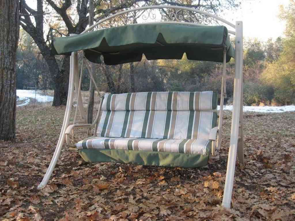 swing chair canopy replacement ergonomic arm support cushions for patio swings and home