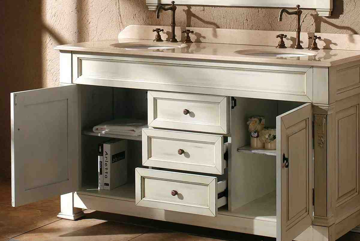 Bathroom Double Vanity Cabinets  Home Furniture Design