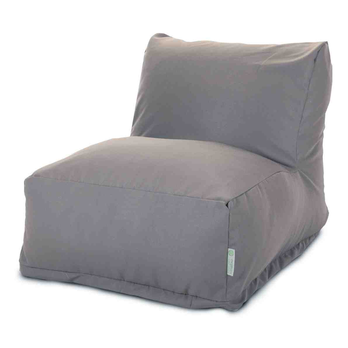 office chair cushion steel covers bean bag loungers majestic home goods