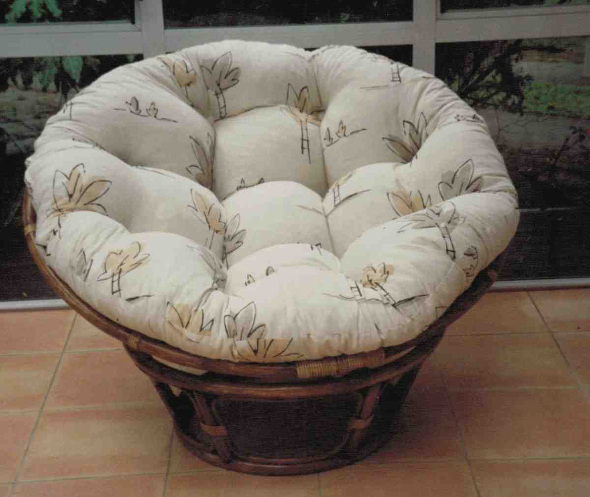 outdoor papasan chair pool lounge chairs walmart double cushion cover home furniture design