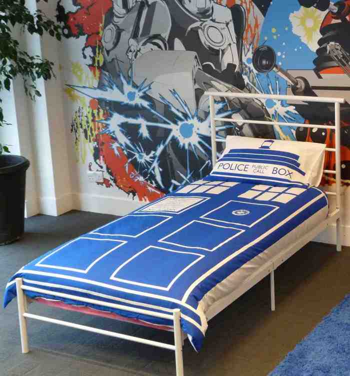 Dr Who Bed Set