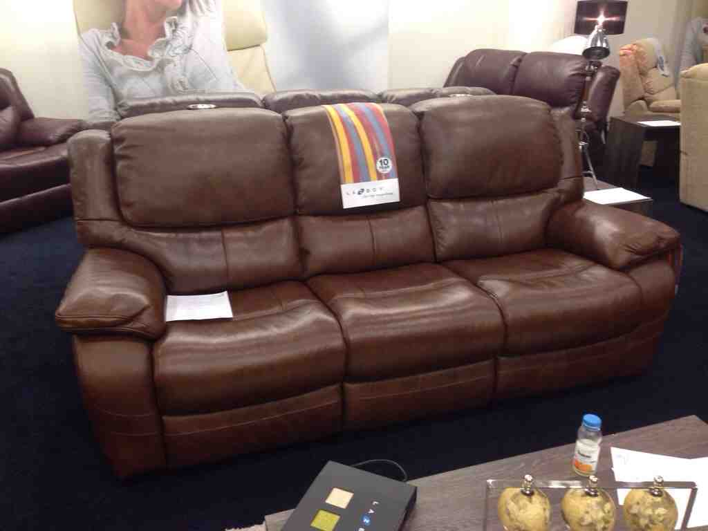 lazy boy sofa recliner reviews ikea leather sofas canada home furniture design