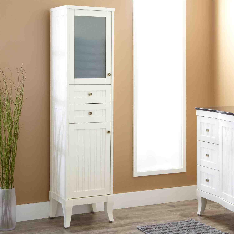 Linen Cabinet  Home Furniture Design