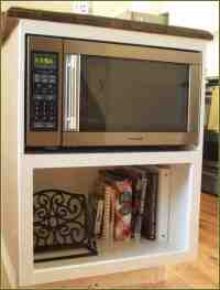 Microwave Cabinet Shelf - Home Furniture Design