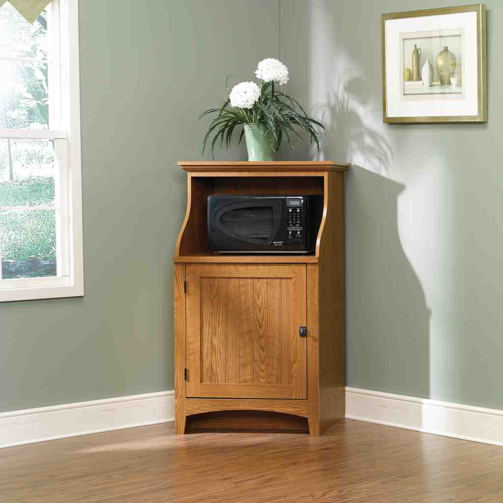 Microwave Tables Cabinets  Home Furniture Design