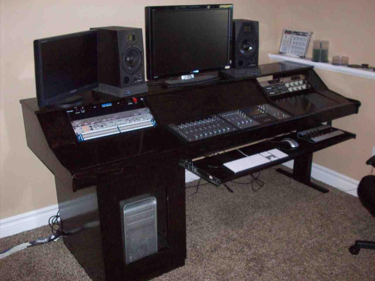 Music Studio Desk Workstation  Home Furniture Design