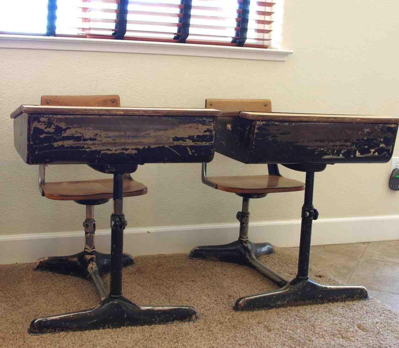 Old Fashioned School Desks for Sale  Home Furniture Design