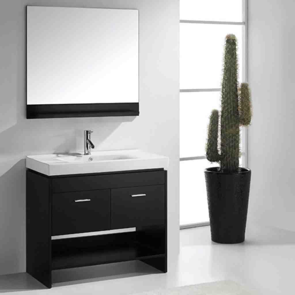 Virtu Gloria 36 Inch Single Sink Bathroom Vanity Set