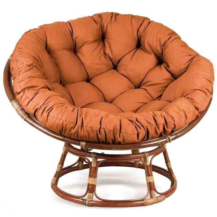 Papasan Chair with Cushion  Home Furniture Design
