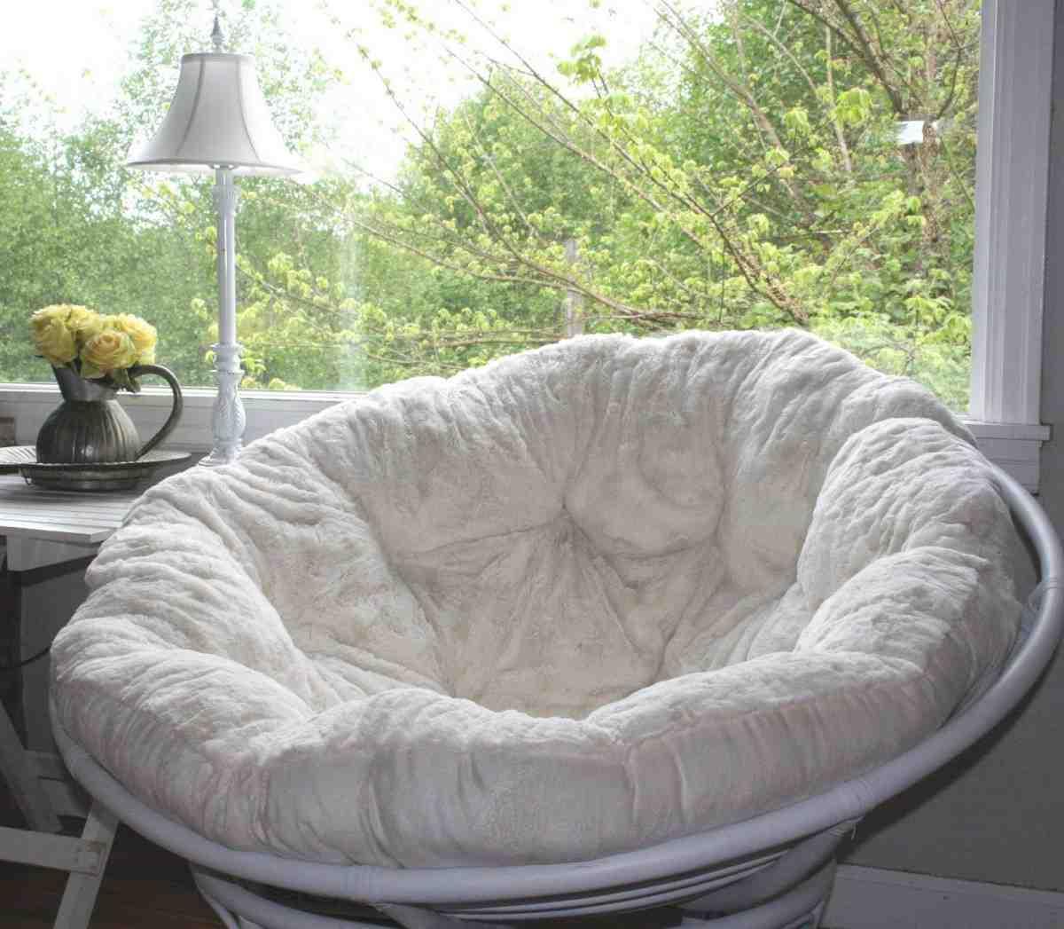 papasan sofa cushion glider furniture village slipcover home design