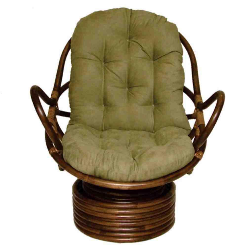 Papasan Swivel Rocker Chair Cushion  Home Furniture Design