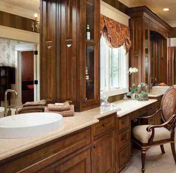 Semi-Custom Bathroom Cabinets