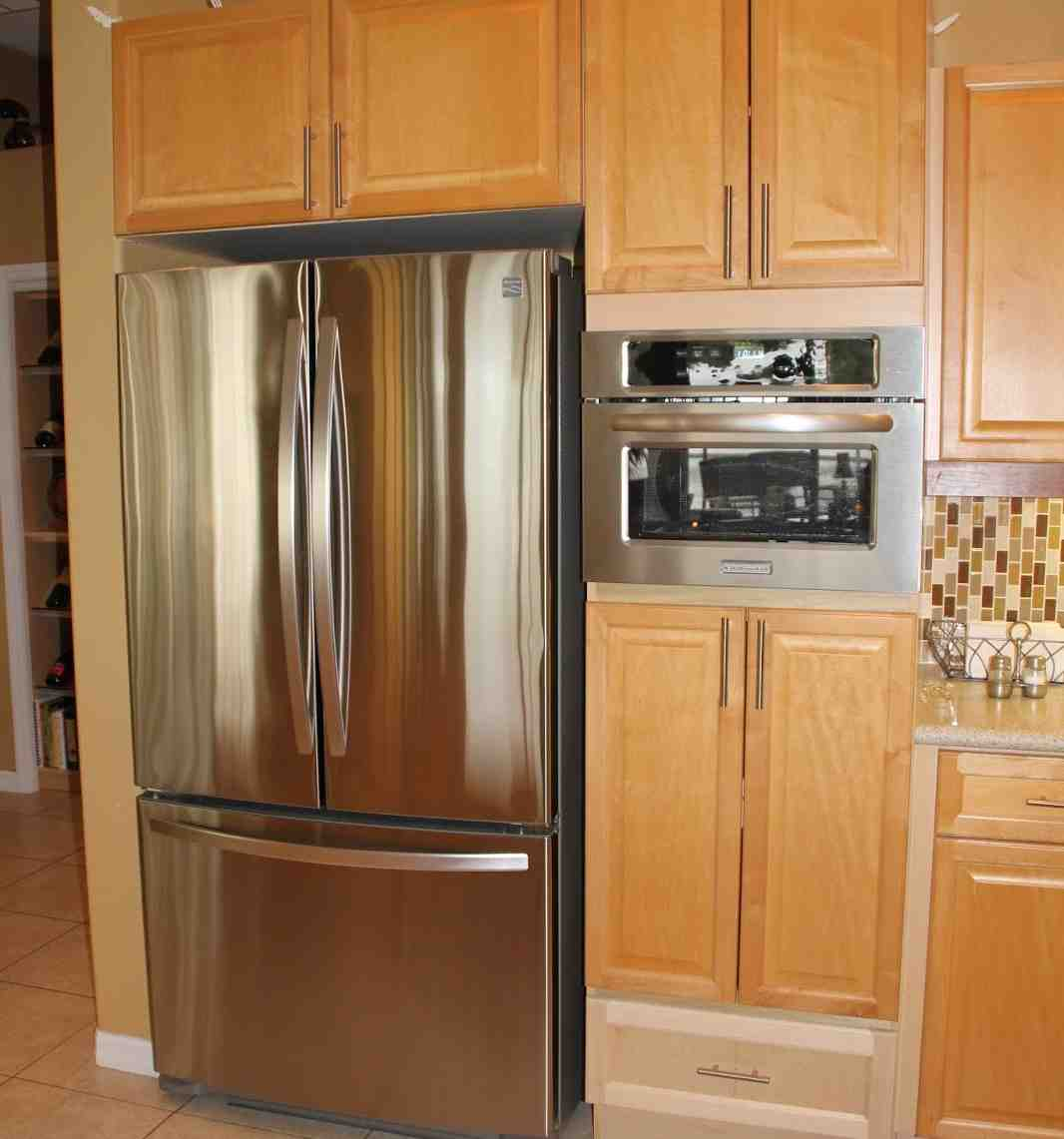 Tall Microwave Cabinet  Home Furniture Design