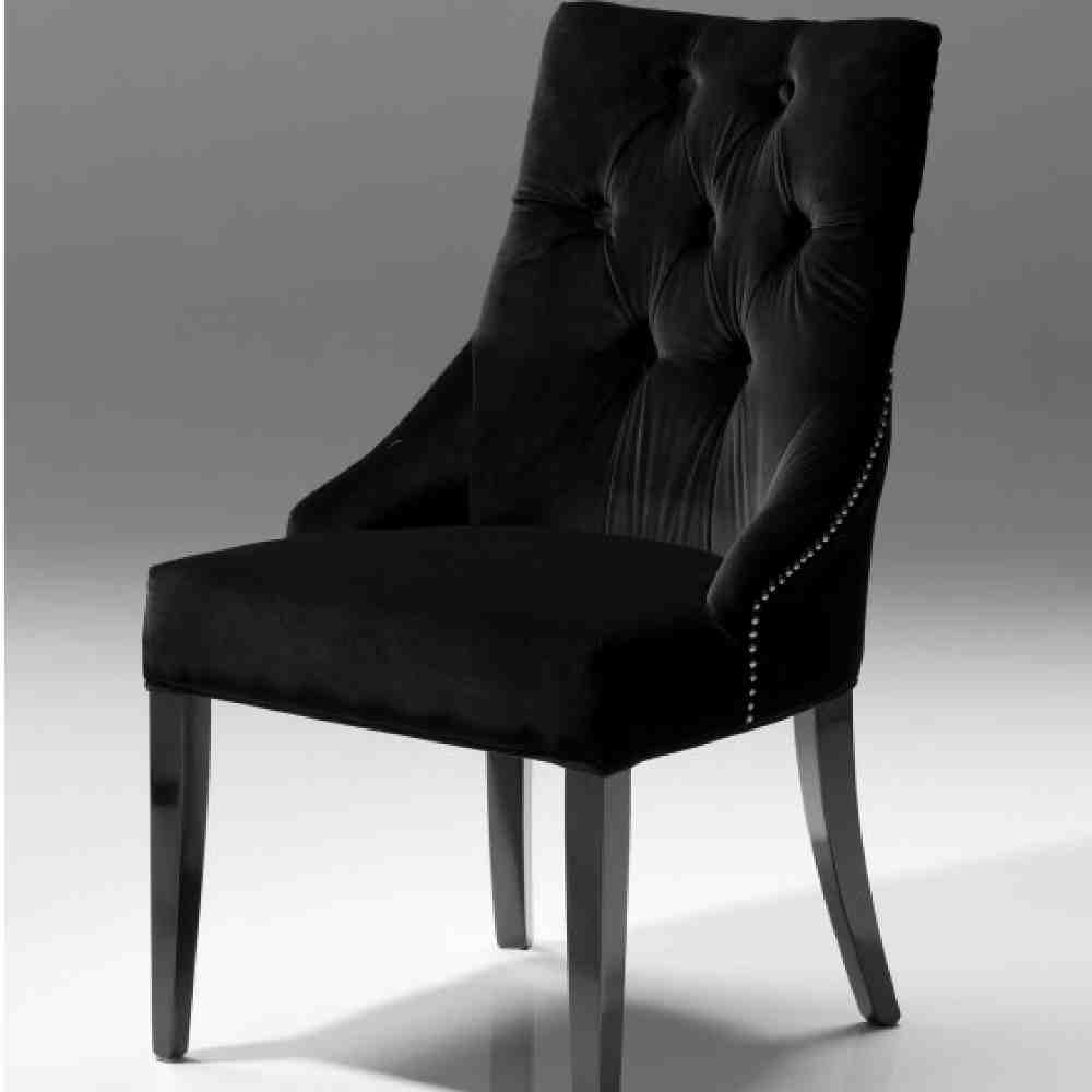 Black Velvet Dining Chairs  Home Furniture Design