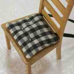 Black Chair Pads High Backed Office Chairs Uk And White Kitchen Cushions Home Furniture Design
