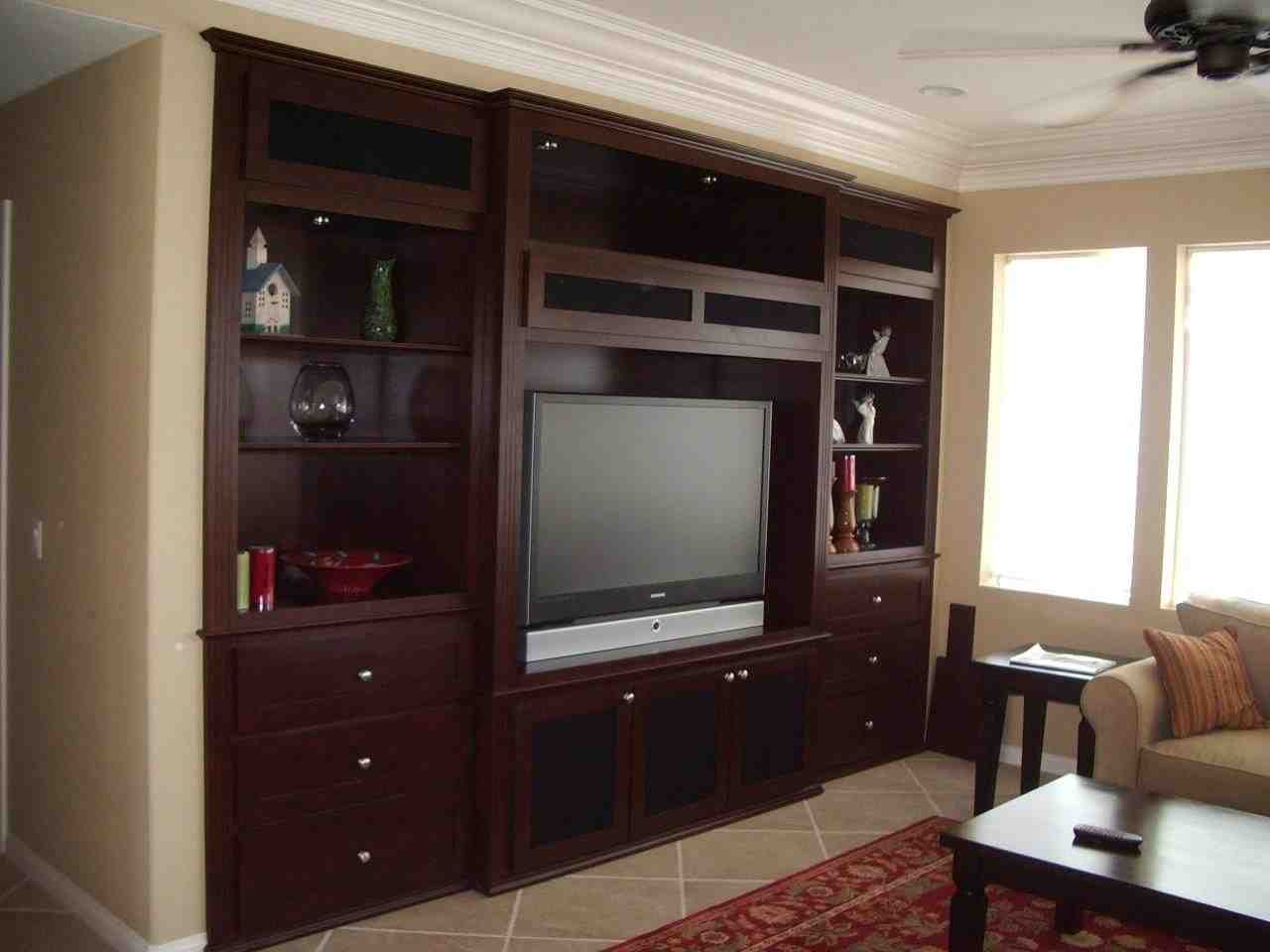 Custom Entertainment Cabinets  Home Furniture Design