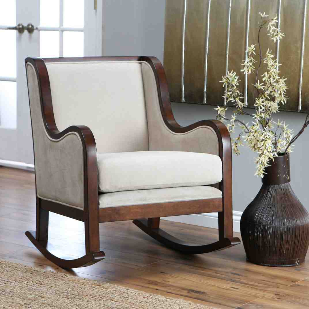 large rocking chair cushion sets posture chairs for living room indoor cushions home furniture design
