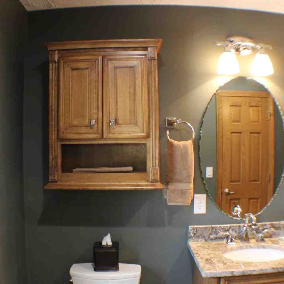 Maple Bathroom Wall Cabinet  Home Furniture Design