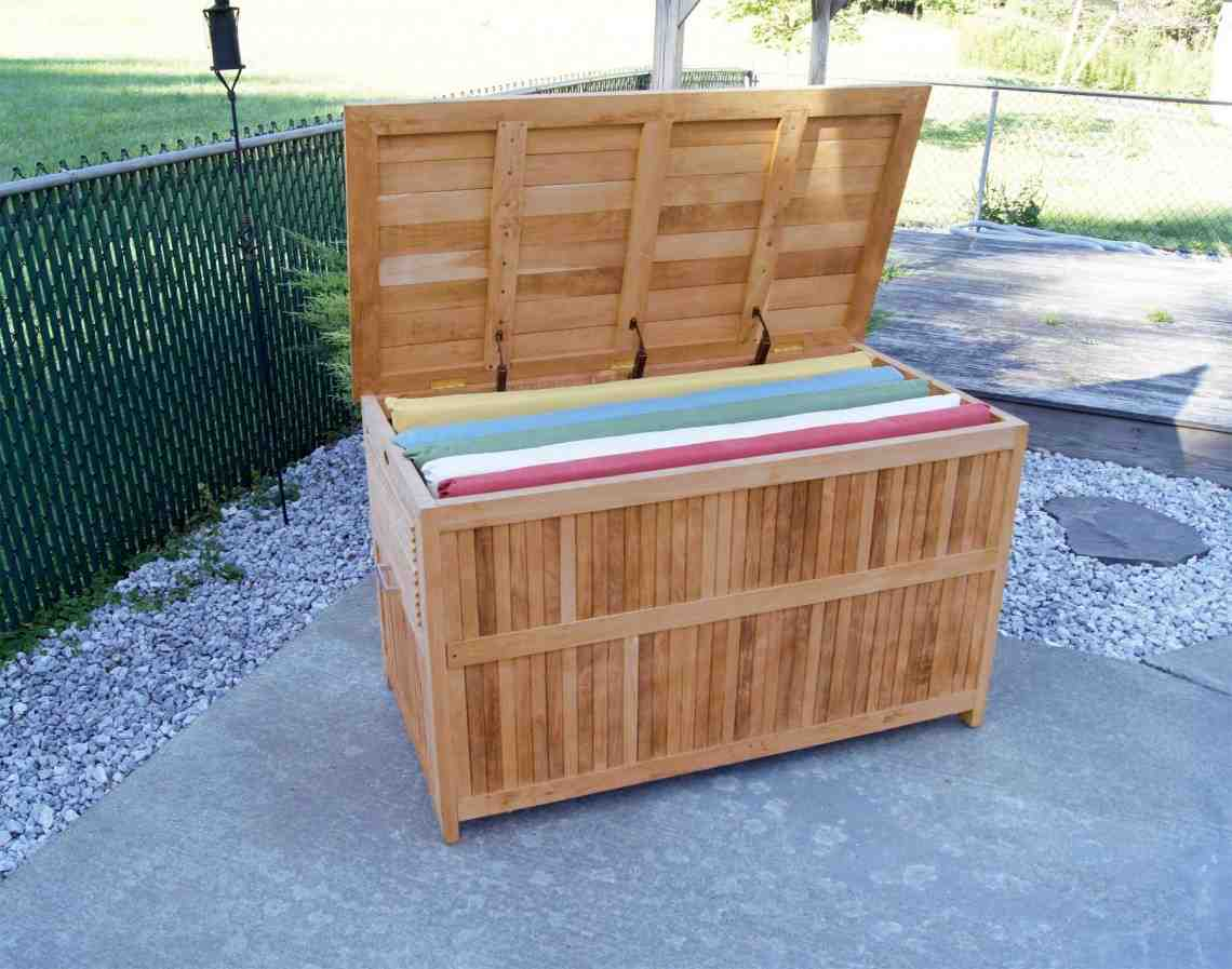 Outdoor Bench with Storage Plans