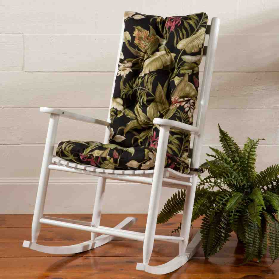 Outdoor Rocking Chair Seat Cushions  Home Furniture Design