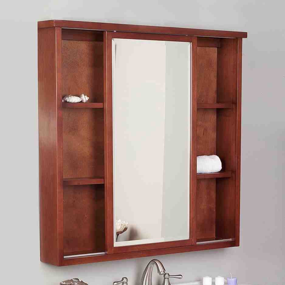 Recessed Mirrored Medicine Cabinets for Bathrooms  Home