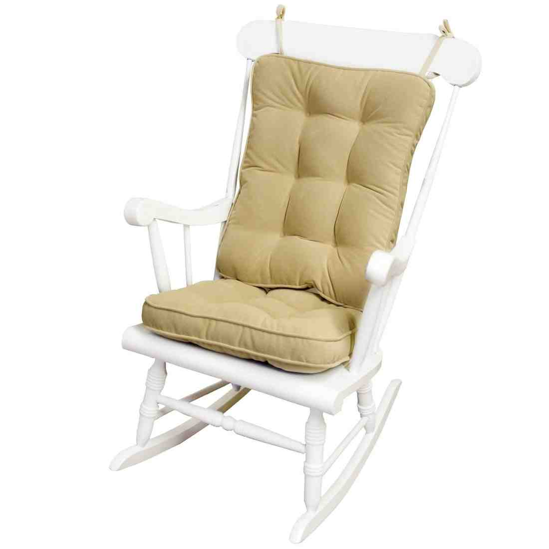 large rocking chair cushion sets ergonomic chairs for home replacement cushions glider
