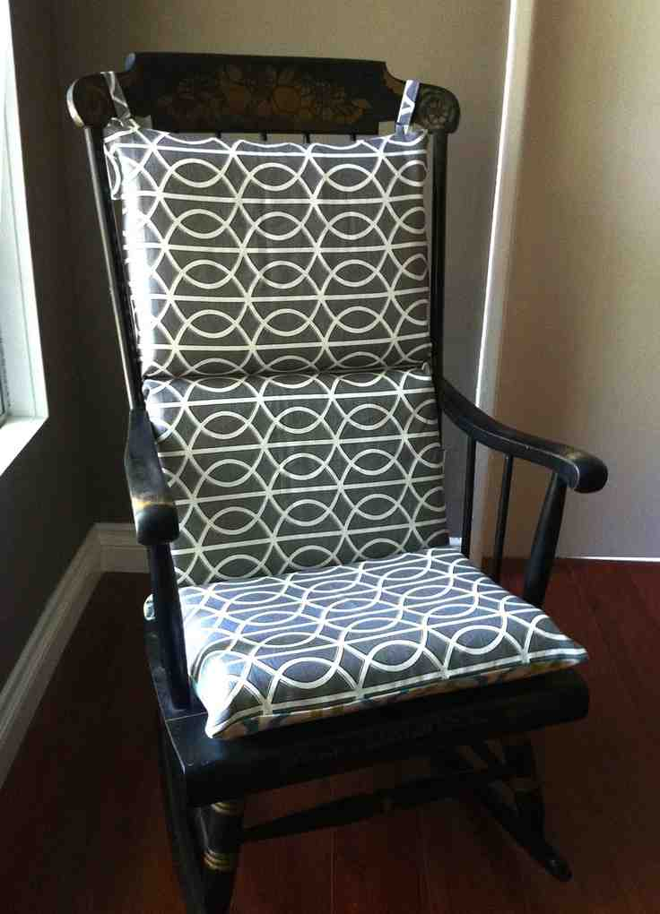 Wooden Rocking Chair Cushions  Home Furniture Design