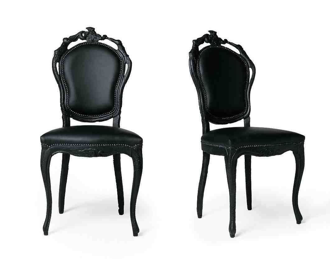 black chair high back patio cushions lowes dining chairs guide from country to elegance home