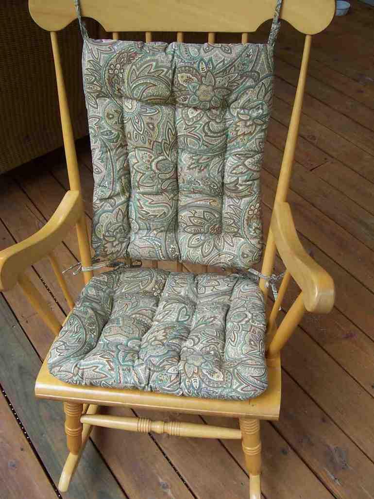 rocking chair cushions  Home Furniture Design