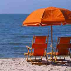 Beach Chairs And Umbrella Ikea Glass Dining Table 4 Watching Ocean Home Furniture Design