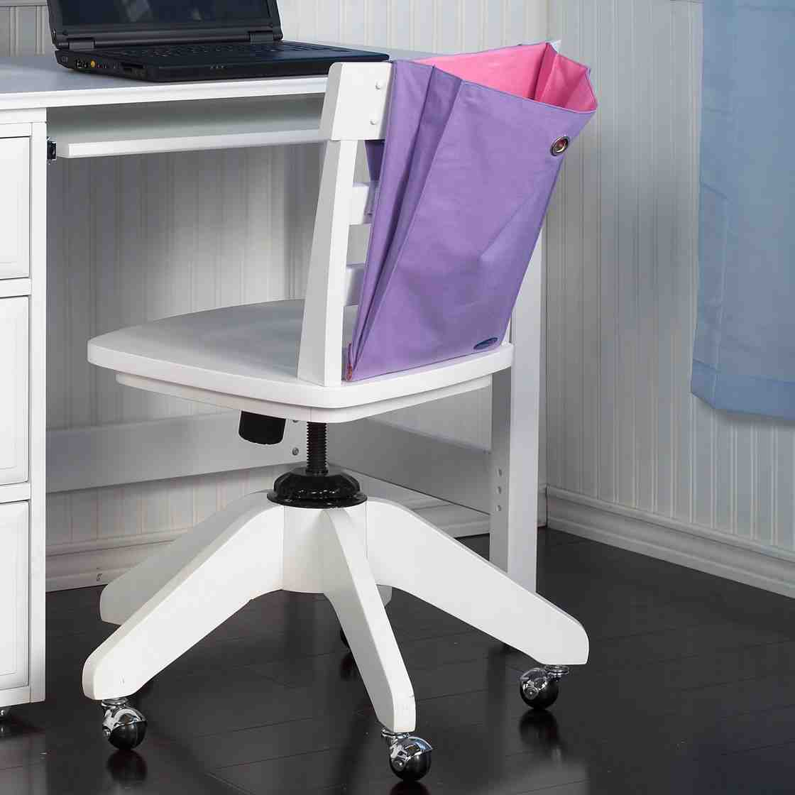 white wooden chair for desk retro lounge kids home furniture design